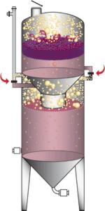 Ganimede-Gärbehälter